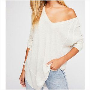 NWT We The Free Catalina Thermal Top - White